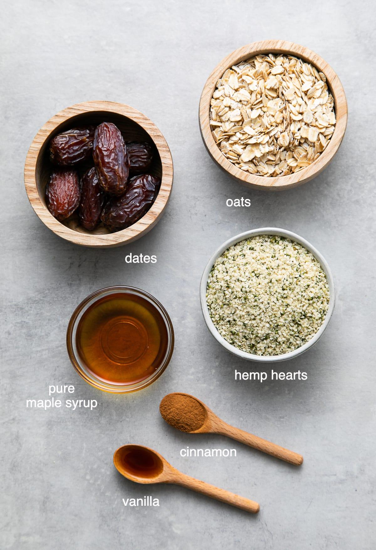 Hemp Heart Energy Bites Healthy Easy The Simple Veganista
