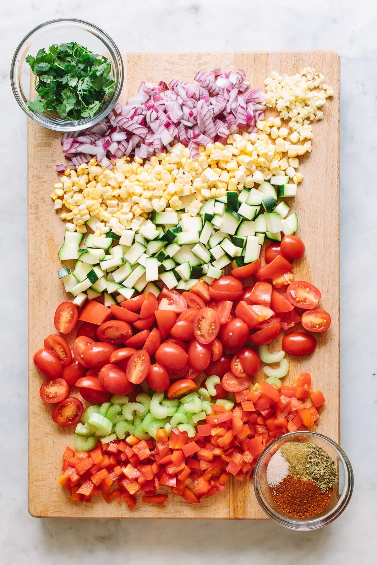Raw Veggie Chili The Simple Veganista