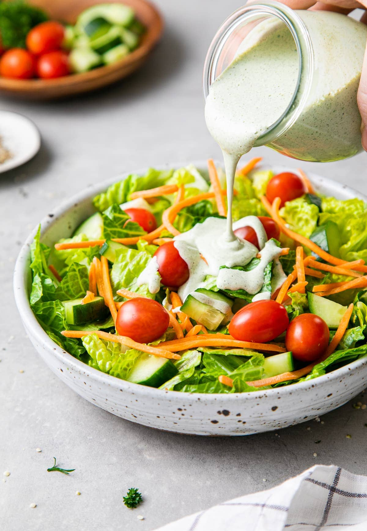 Creamy Ranch Hemp Dressing Quick Easy The Simple Veganista