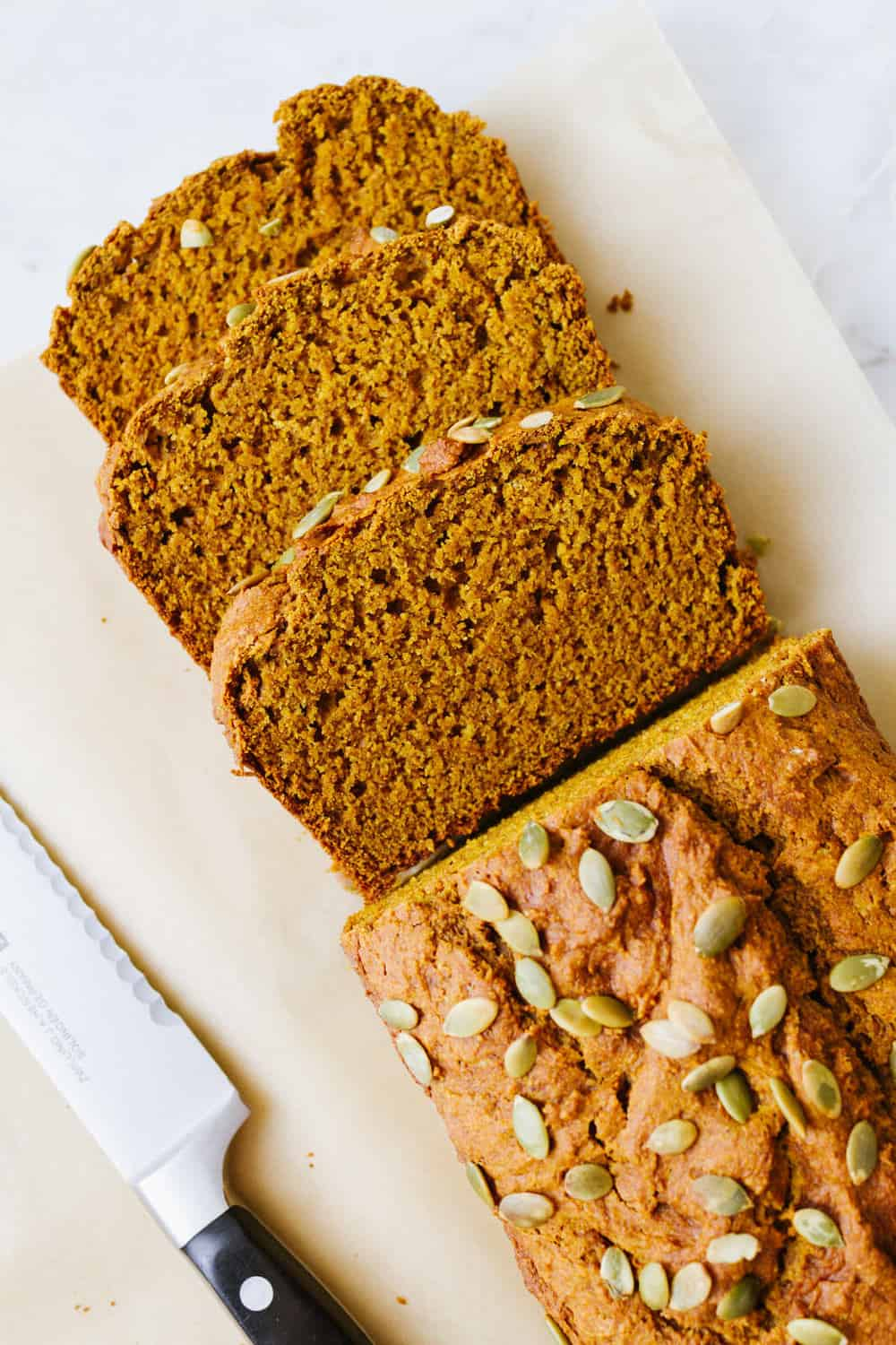 Classic Pumpkin Bread Vegan The Simple Veganista