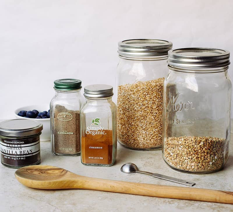 Buckwheat & Steel Oats Breakfast Jars