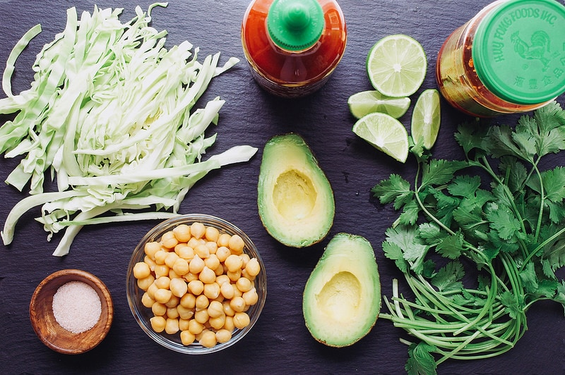 QUICK & EASY CHICKPEA TACOS