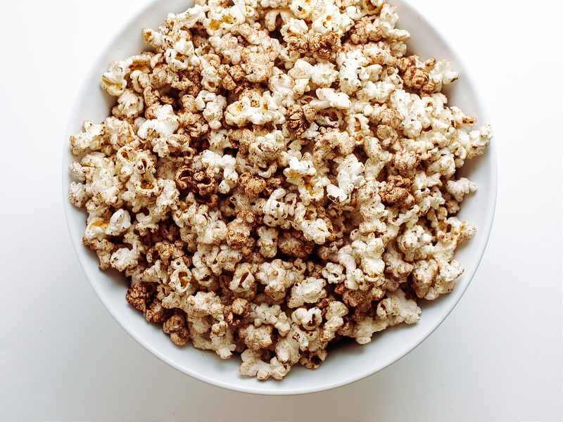 CHOCOLATE CHAI POPCORN