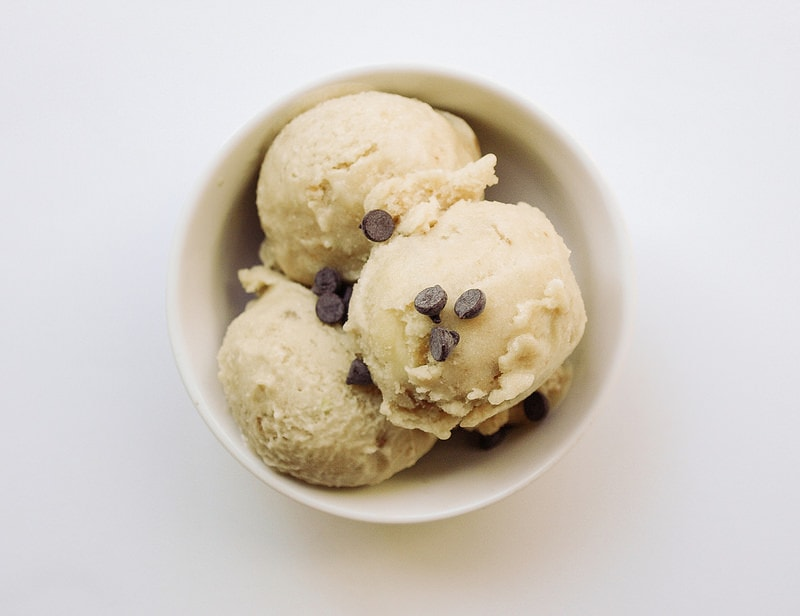 Banana Coconut Ginger Ice Cream