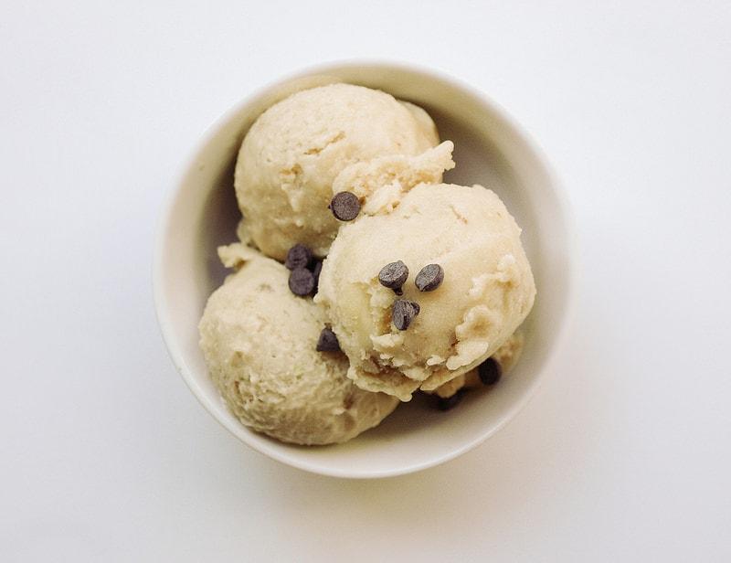 Banana Coconut Ginger Ice Cream