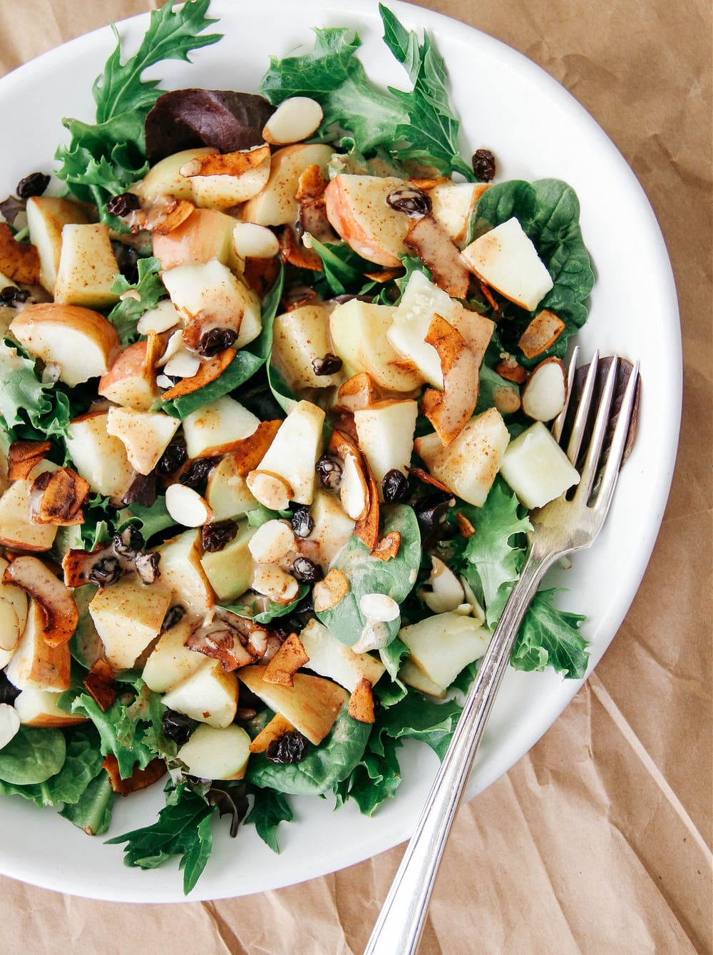 APPLE & COCONUT BACON SALAD