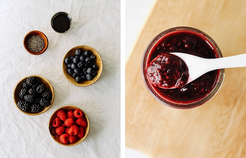 TRIPLE BERRY SEED CHIA JAM: ingredients