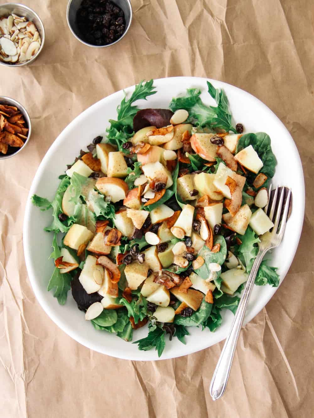 CRISP APPLE & COCONUT BACON SALAD