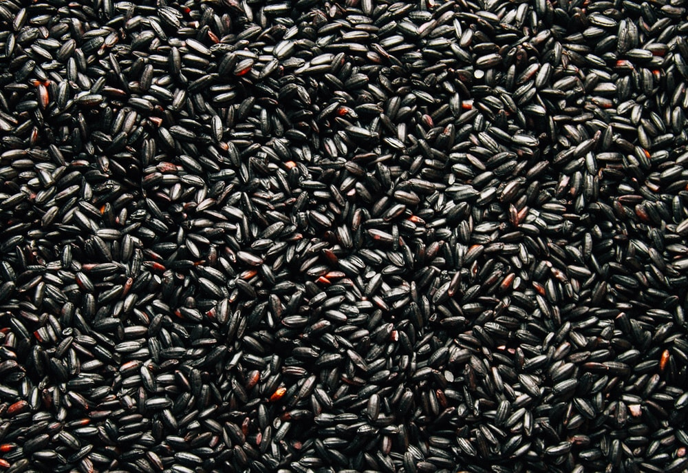 Chinese Black rice (Forbidden Rice)