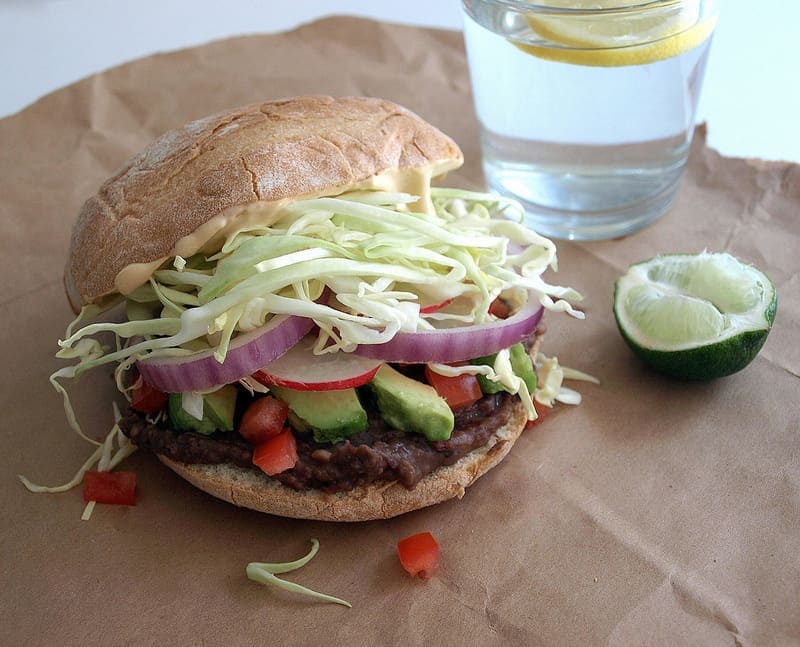 avocado-black-bean-torta