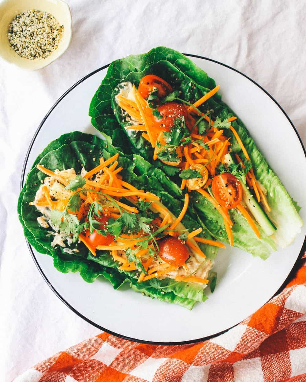 Fresh Vegan Lettuce Wraps