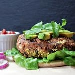 sante fe black bean burger