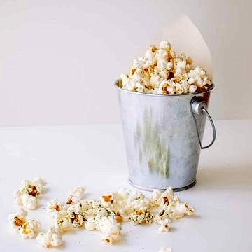 sweet zen green tea popcorn