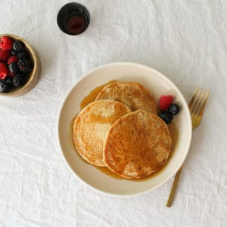 best healthy vegan pancakes