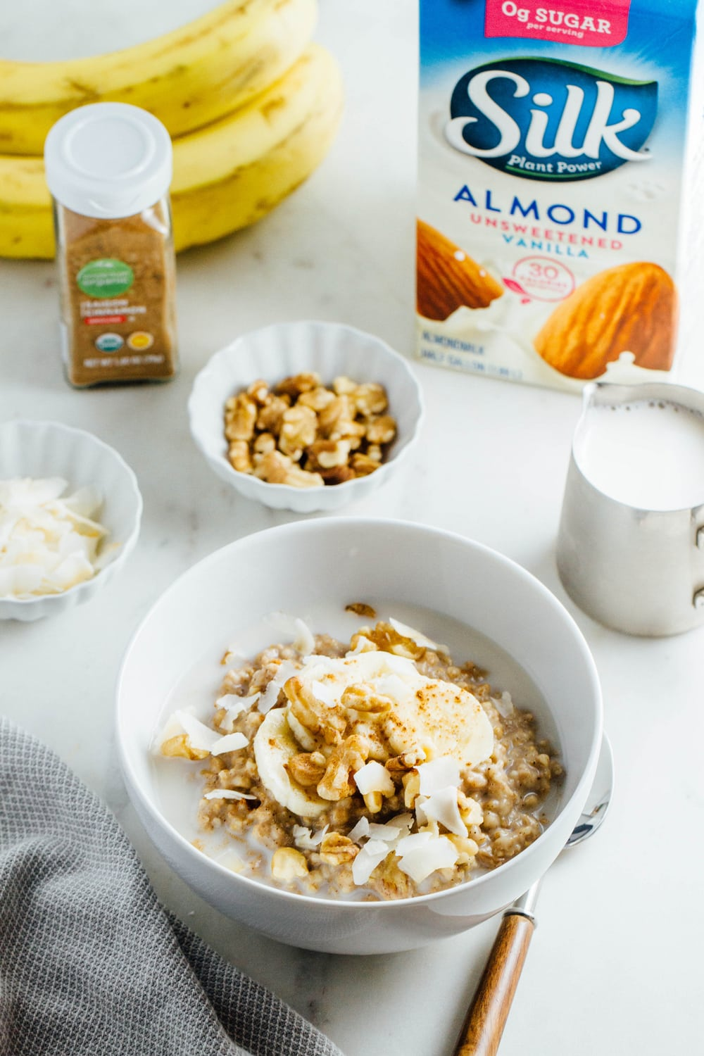 BANANA-NUT STEEL CUT OATMEAL