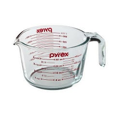 pyrex 4 cup measure