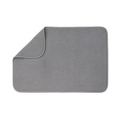 xxl dish dryng mat grey absorbant