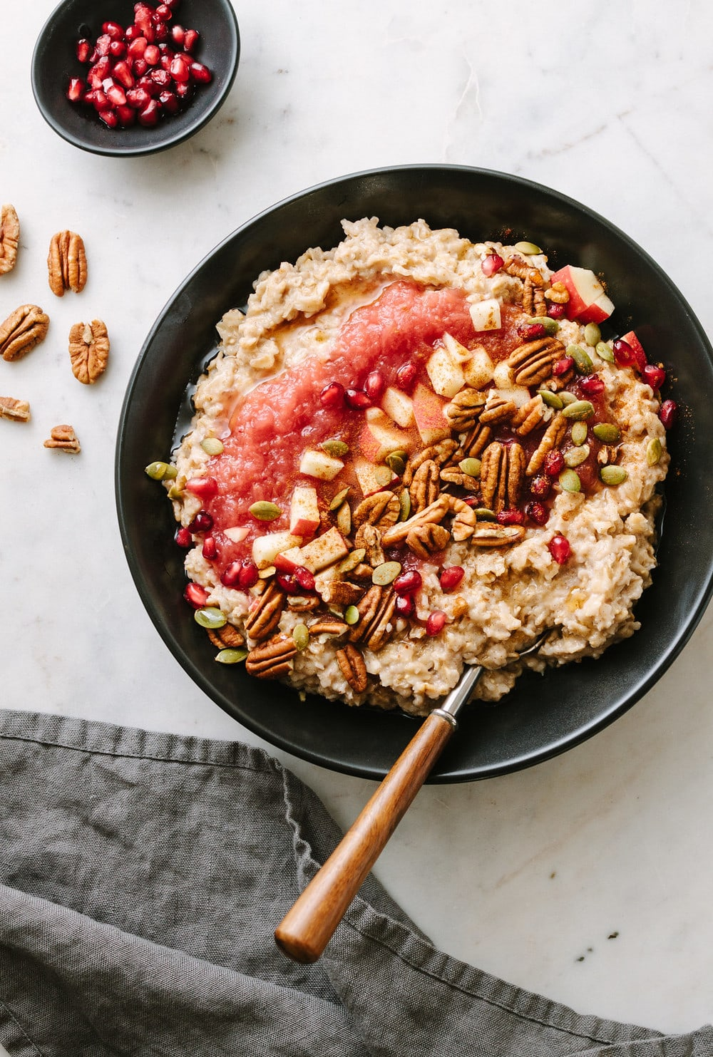 Healthy Bowl Of Cinnamon Oatmeal - The